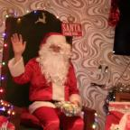 Santa visits the Centre
